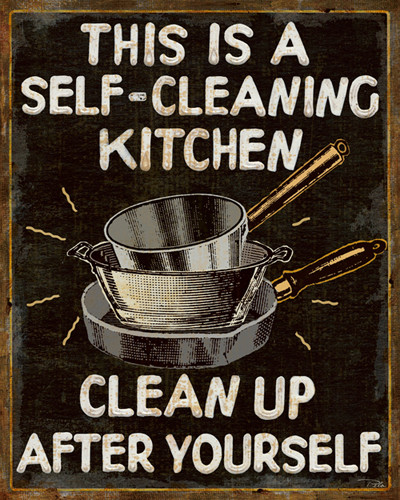 Self-cleaning Kitchen