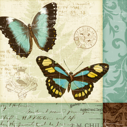 Butterfly Patchwork II