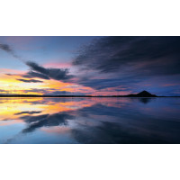 Lake Myvatn Reflections