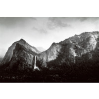 Sun and Snow - Bridalveil Fall