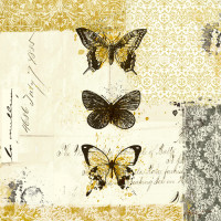 Golden Bees n Butterflies No. 2