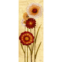 Happy Flowers Neutral Panel I