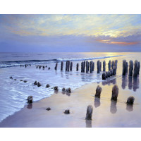 Sunset at Ostsee Coast I