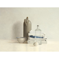 Jar, Bottle, Egg, Bowl and Cloths