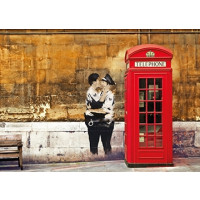 Red Telephone Box - Edition Street Art
