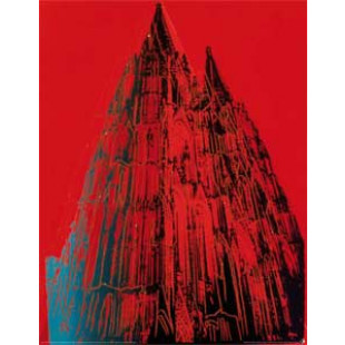 Cologne Cathedral - red