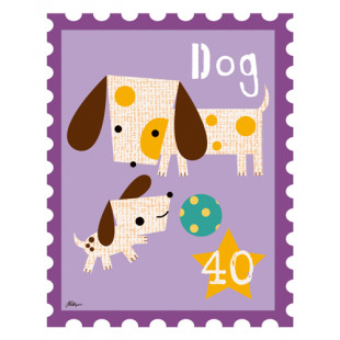 Animal Stamps - Dog