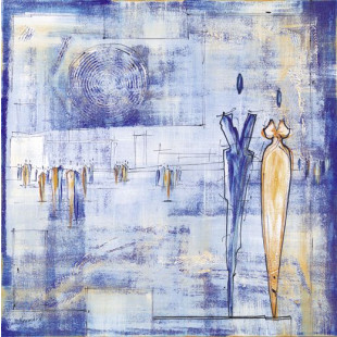 Walk On By II (Blue)