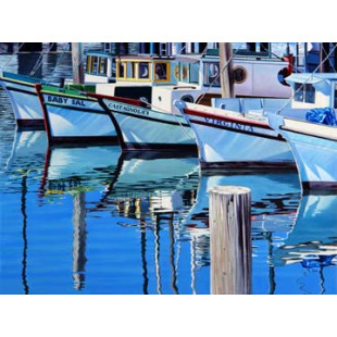 Fisherman`s Wharf Reflections
