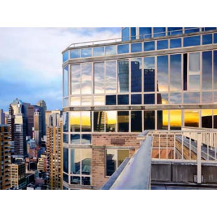 NYC Penthouse Reflections